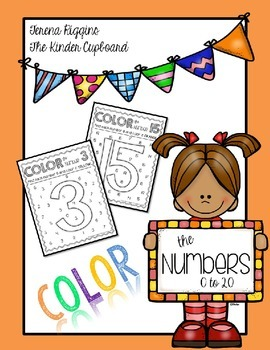 Color by Number { Identify Numbers }