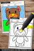 Color by Number Kindergarten Coloring Pages Comparing Numbers Worksheets SPS