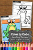 Color by Number Kindergarten Counting Forward from Any Given Number, SPS