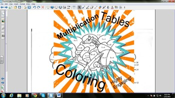 Color by Number Multiplication