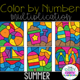 Color by Number Multiplication (Summer)