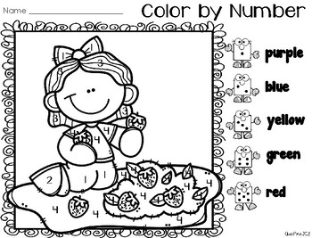 Color by Number: Number ID (Kids)