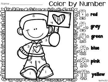 Color by Number: Number ID (Kids Set 2)