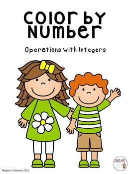 Color by Number:  Operations with Integers