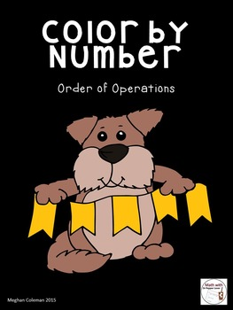 Color by Number:  Order of Operations