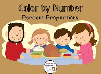 Color by Number :  Percent Proportions