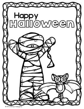 Color by Number + Shape & Coloring Pages, Halloween Version.