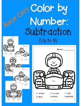 Color by Number - Simple Subtraction