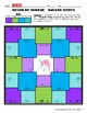 Color-by-Number: Square Roots of Perfect Squares (1-20)