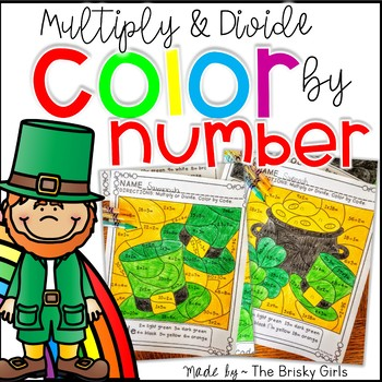 Color by Number St. Patrick's Day