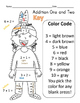 Color by Number Thanksgiving Math Practice - Addition One and Two Freebie