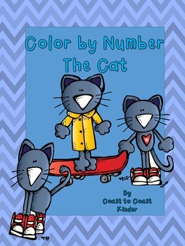 Color by Number- The Cat