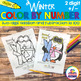 Color by Number Two Digit Addition and Subtraction to 100 Bundle