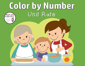 Color by Number : Unit Rates