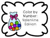 Color by Number: Valentines Day