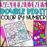 Color by Number Valentines Day Mystery Pictures: Addition & Subtraction