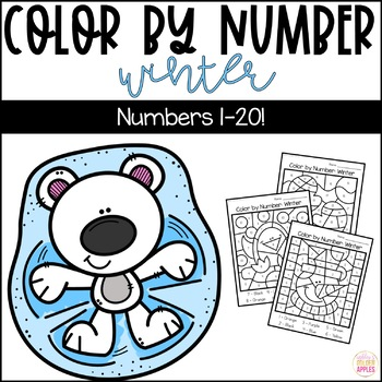 Color by Number Winter