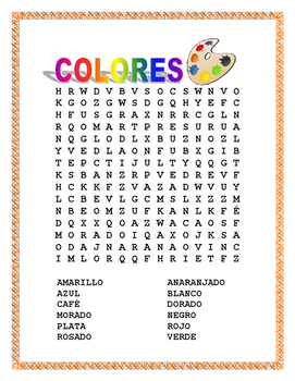 "Color by Number in Spanish-""La Lechuza"" -The Owl""- Colors Interactive Lesson"