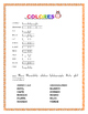 "Color by Number in Spanish-""La Lechuza"" -The Owl""-  Hallow"