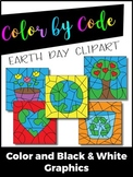 Color by Number or Color by Code Clipart