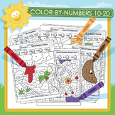 Color by Numbers 10-20 - 18 Pack