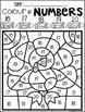 Color by Code Numbers 11-20 Seasonal Bundle (Growing) Activities
