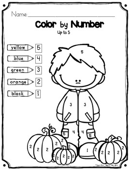Color by Numbers, Adding and Subtraction