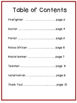 Color by Numbers (Community Helpers)