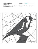 Birds Color by Numbers - Evens & Odds (1 - 20)