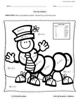 Color-by-Numbers:  SUPER BUNDLE PACK addition, subtraction, multiplication