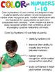 Color by Code Numbers 1-10 Seasonal Bundle (Growing) Activities