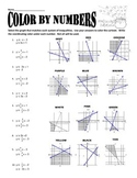 Systems of Inequalities Color by Numbers