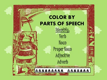 Color by Parts of Speech