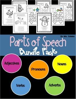 Parts of Speech Bundle Pack!