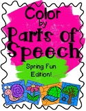 Color by Parts of Speech-Spring Fun!
