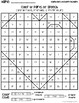 FREE Valentine's Color by Parts of Speech Mystery Pictures with Worksheet