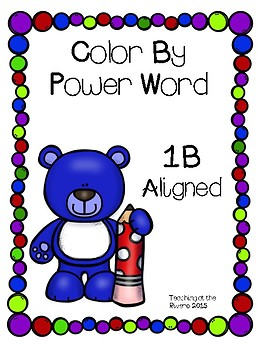 Color by Power Word 1B