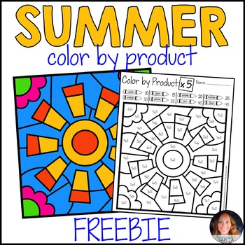 Color by Product - Summer FREE