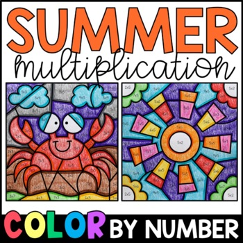 Color by Product: Summer Multiplication