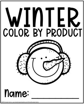 Color by Product: Winter Multiplication