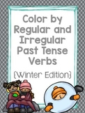 Color by Regular and Irregular Past Tense Verbs
