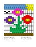 Color by Rhyming Word- Flower