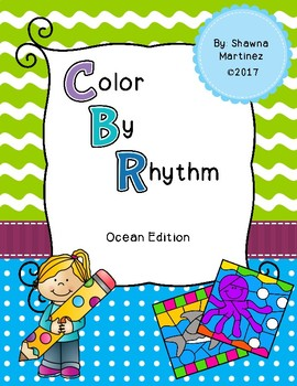 Color by Rhythm: Ocean Edition