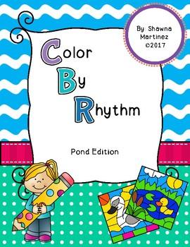 Color by Rhythm: Pond Edition
