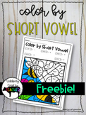 Color by Short Vowels | FREEBIE!