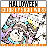 Color by Sight Word | Halloween