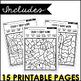 Color by Sight Word (Journeys Kindergarten Units 1-6 Supplemental Resource)