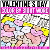 Color by Sight Word | Valentine's Day