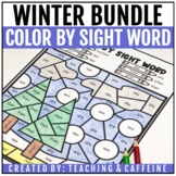 Color by Sight Word | Winter Bundle