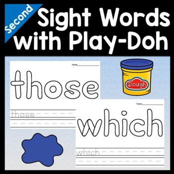 Sight Word Coloring Sheets for Halloween {8 Pages}